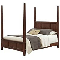 Home Styles Furniture 5529-620 Chesapeake Poster Bed, King