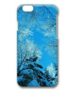 Cool IPhone 6S Cover Luxury 0084871 tree tops winter blue sky case for iphone 6 3d pc material IPhone 6 Case