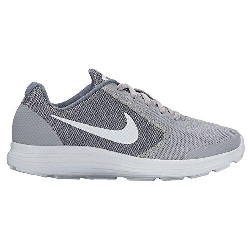 Nike Revolution 3 (GS), Zapatillas de Running para Niños Gris