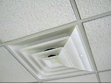 AIRVISOR Air Deflector for Office Ceiling Vents 24