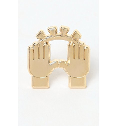 Pintrill Mens Praise Hands Pin