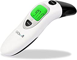 QQCute Digital Medical Infrared Forehead Thermometer Dual Mode Electronic Clinical Instant Read More Accurate Fever Body Temperature Professional Thermometers Suitable For Babies Kids Adults