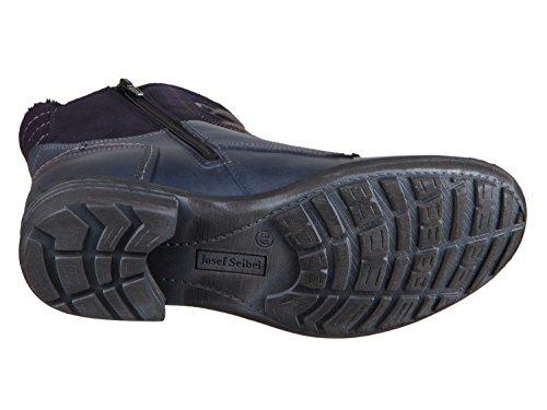 Josef Seibel Boots in Übergrößen Blau 93882 VL946 530 Große Damenschuhe Dunkelblau