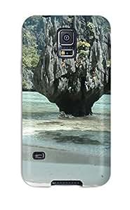 Best 8371771K76569226 Defender Case For Galaxy S5, El Nido Palawan Pattern