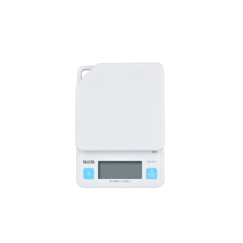 MILAIDI Digital Kitchen Scale Household Electronic Scale 2KG/1G Table Scale Baking Scale (White) by MILAIDI
