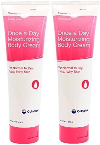 Sween 24 Skin Protectant Cream – 9 Ounce Tube – Pack of 2