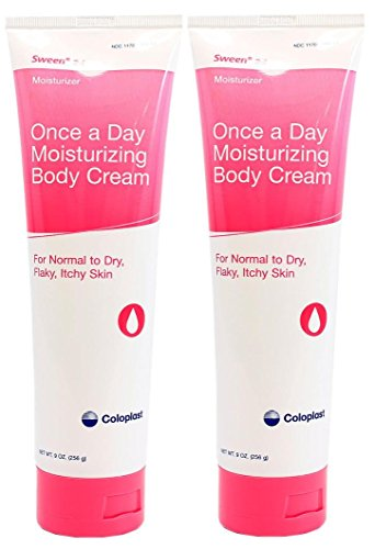 - Sween 24 Skin Protectant Cream - 9 Ounce Tube - Pack of 2