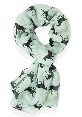 Gorgeous Designer Style Horse Print Scarf, Shawl, Sarong - Designer Styles
