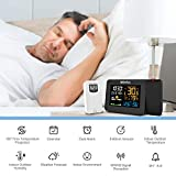 Meofia Projection Alarm Clock for Bedrooms with