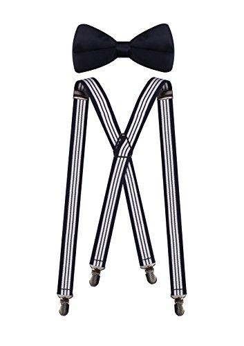 White Tuxedo Stripe - 4