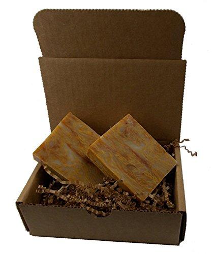 Autumn Apples Soap - Handmade, All Natural - Vegan / 2 Bars by YANKEETRADERS