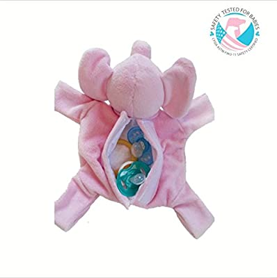 Snuggin Stuffed Animal Pacifier Holder & Storage All-in-One
