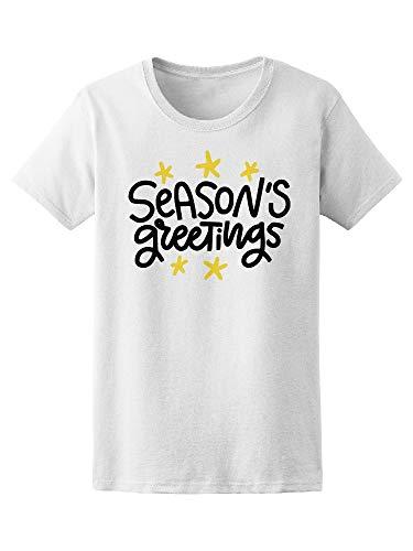 Seasons Greeting Cute Stars Tee Women's -Image by Shutterstock from Teeblox