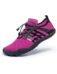 fcd15b908f26 Women Men Unisex Lightweight Water Shoes Quick-Dry Barefoot Flexible Beach  Swim Shoes