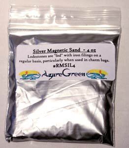 (1 X Magnetic Sand Silver 4oz)