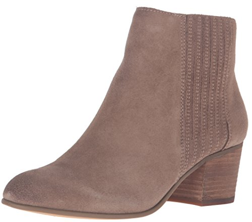 Dolce Vita Women's Iona Ankle Bootie Dark Taupe