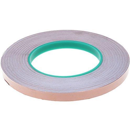 BCP Double Conductive EMI Shielding Copper Foil Tape- 3/8 Inch X 55 Yds.