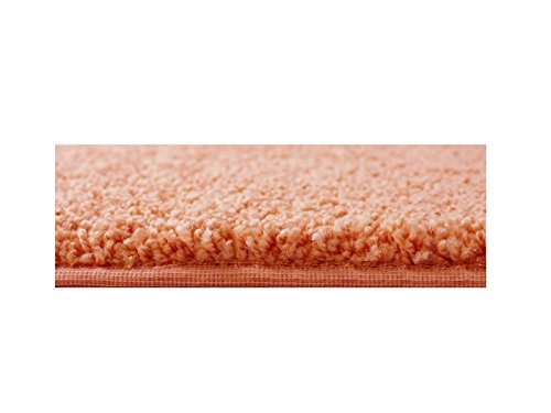 COLORFUL COLLEGE CARPET RUGS Assorted Shapes -n- SizesWarm & Cozy Under Foot (Twisted Orange, 6'x9') by Children's Choice (Image #1)