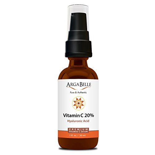 Price comparison product image Vitamin C Serum 20% with Hyaluronic Acid- that helps Anti Aging, Anti-Wrinkle for a Brighter Younger Looking Skin- 1 fl oz.