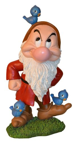 Woods International 4047 Grumpy with Bluebirds Statue, 19.5-Inch by 10.875-Inch by 9-1/4-Inch