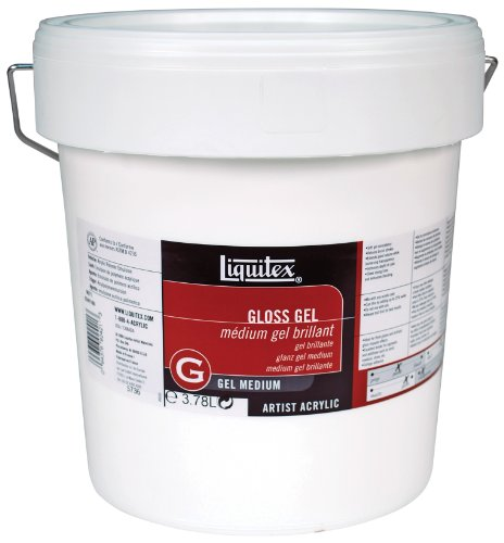 128 Ounce Gallon (Liquitex Professional Gloss Gel Medium, 128-oz (gallon))