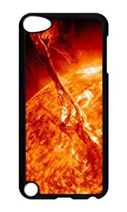 Ipod 5 Case,MOKSHOP Awesome Sun eruption Hard Case Protective Shell Cell Phone Cover For Ipod 5 - PC Black