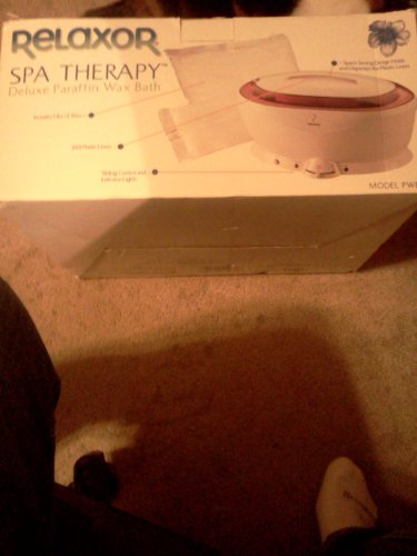 Spa Therapy Deluxe Paraffin Wax Bath by Relaxor (Image #1)