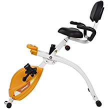 Loctek U1 Under Desk Bike Upright Stationary Foldable Exercise Bike