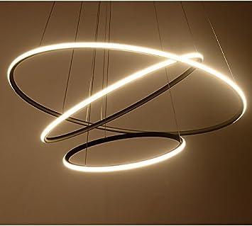 Saint Mossi® Exklusiv Entwurf Modern Kronleuchter Lüster Hängelampe  Pendelleuchten LED Deckenleuchte Drei Stufe Leuchter Aussehen