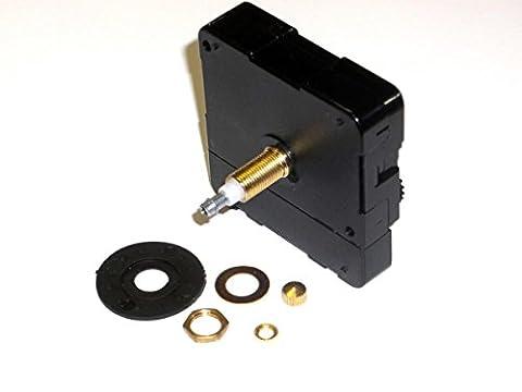 High Torque Quartz Clock Motor (For Long Hands), Long Shaft - Ultra Quiet (High Torque Quartz Movement)