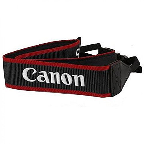Canon EW-100DB IV Wide Camera Strap for SL1, T3, T3i, T4i, T5i, 60D, 7D, 5D Mark II, 5D Mark III and 1D X EOS SLR - Strap Canon Wide