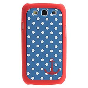 Sailor Design Dots Pattern 2 in 1 Detachable Hard Case for Samsung Galaxy S3 I9300