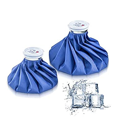 Ice Bag Packs - Reusable Hot & Cold Pack (2 Packs(9/11 Inch))