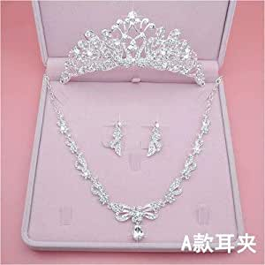 Amazon.com: Mybox Bride's crown tiara female super fairy