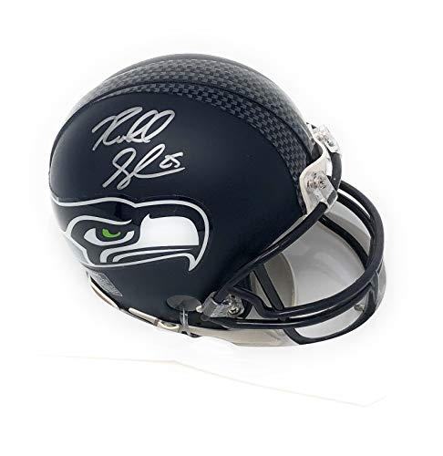 Richard Sherman Seattle Seahawks Signed Autograph Speed Mini Helmet R Sherman Hologram Certified from Mister Mancave