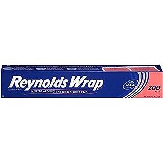 Reynolds Wrap Standard Aluminum Foil - 200 Square Feet (2pack)
