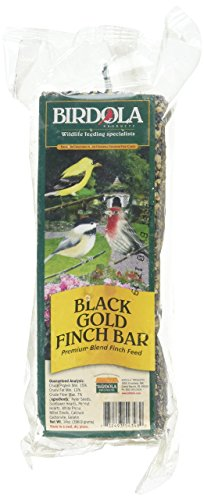 Birdola Black Gold Finch Bar Premium Blend Finch Finch Seed, 14-Ounce