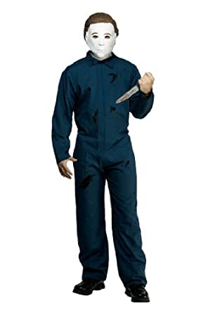 Paper Magic Men's Halloween Adult Michael Myers Costume, Blue, One size