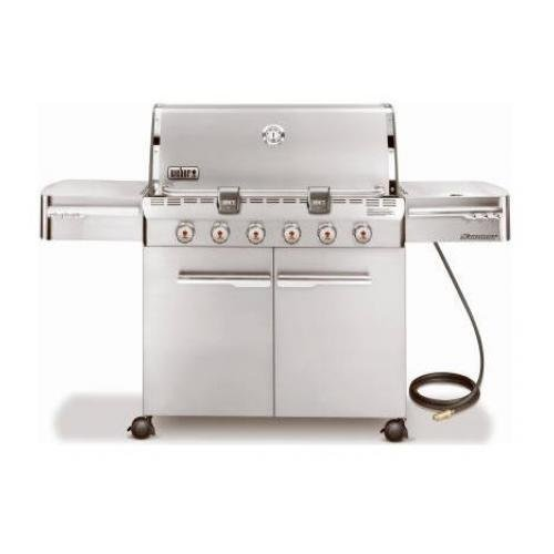 Weber Summit 7420001 S-620 Stainless-Steel 838-Square-Inch 60,800-BTU Natural-Gas Grill by Weber