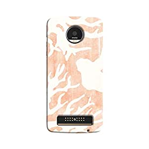 Cover It Up - Pink Nature Print Moto Z Play Hard case