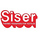 SISER EasyWeed Heat Transfer Vinyl HTV for T-Shirts 12 x 12 Inches 5 Precut Sheets