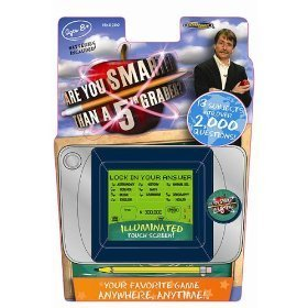 - Techno Source Are You Smarter than a 5th Grader - Illuminated Touch Screen Game