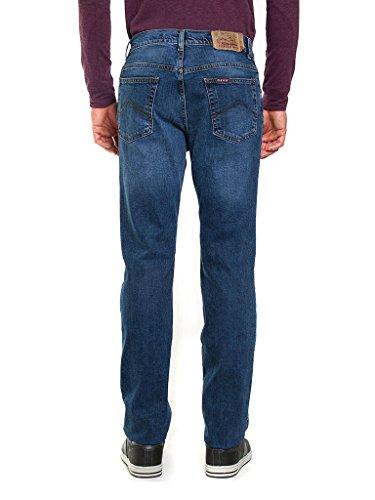 Lavaggio Relaxed Carrera 071 Medio stone Wash Blu Jeans Uomo nIAgwxvq4A