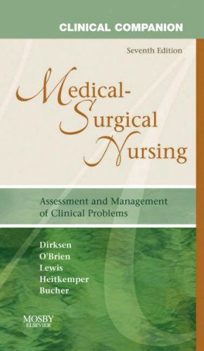 Clinical Companion to Medical-Surgical Nursing, 7e (Clinical Companion (Elsevier))