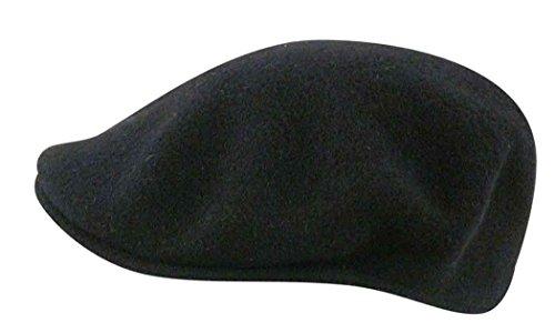 Kangol Men's Wool 504 Cap (X-Large, Navy Blue) -