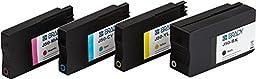 Brady J50-CMYK Multi Pack Ink Cartridge, 3.4\