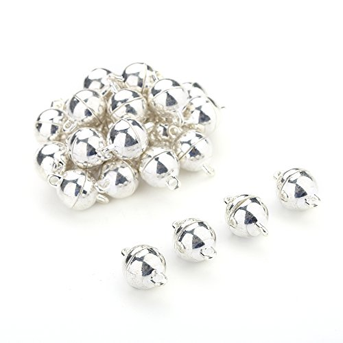 Navifoce Color Plated Crystal/ Smooth Ba - Crystal Ball Clasp Shopping Results
