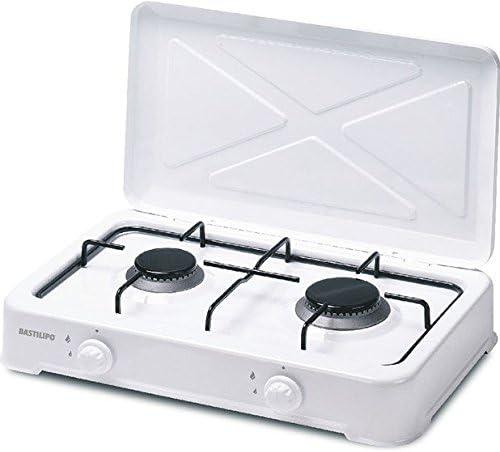 Bastilipo CG-300 Cocina de Gas Butano o Propano, 4 W, Estructura ...