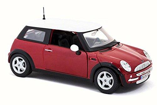 Mini Cooper Hard Top, Red - Maisto 31219 - 1/24 Scale Diecast Model Toy Car
