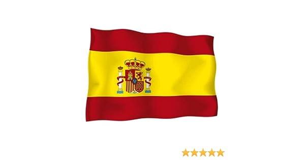 Acan Bandera de España 90 x 150 cm: Amazon.es: Hogar